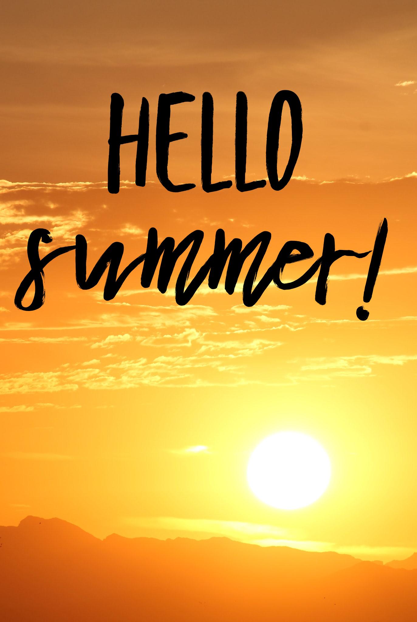 Hello Summer 2020